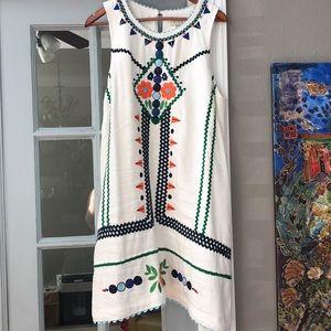 Anthropologie Embroidered Sundress